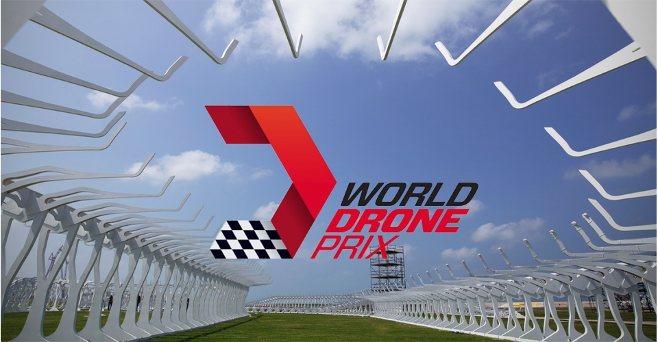 World Drone Prix showt race parcours in video