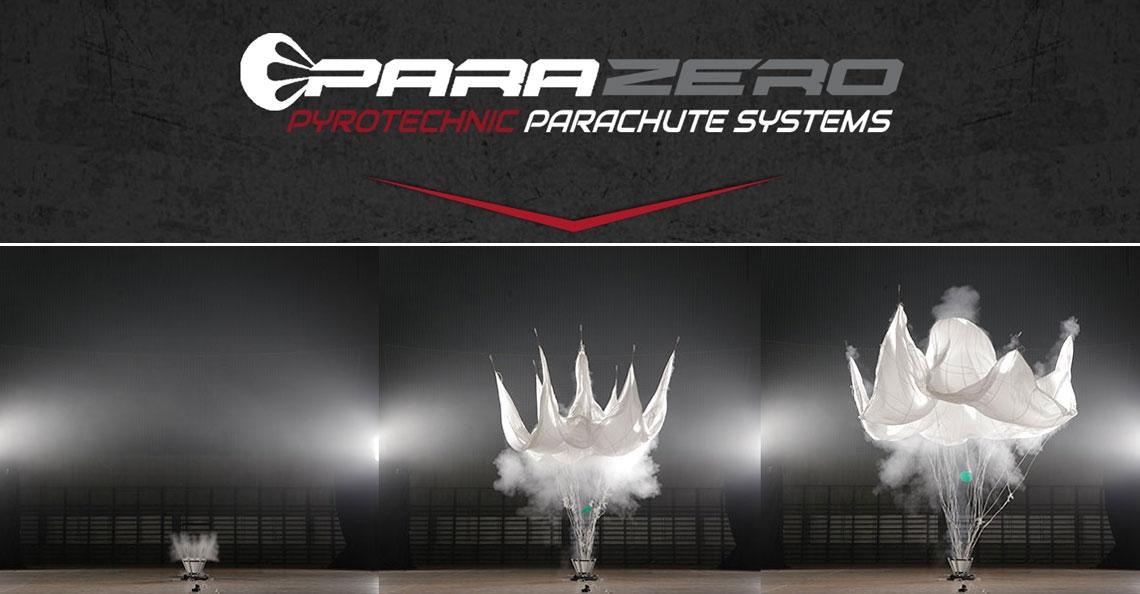 ParaZero SafeAir redt je drone met een parachute