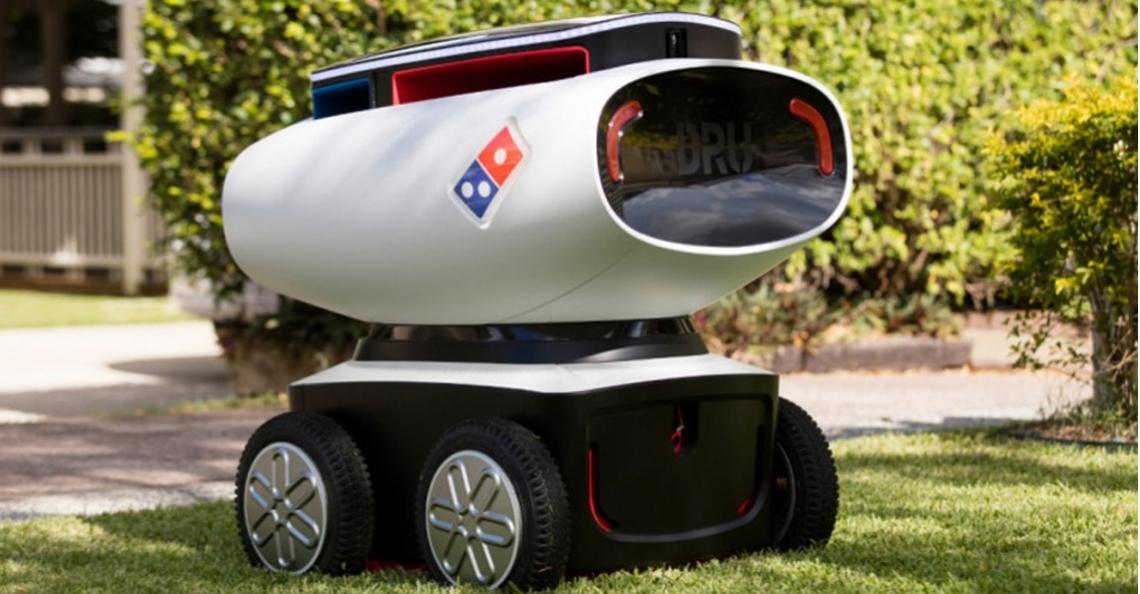 Domino's introduceert DRU: autonoom pizzabezorgvoertuig
