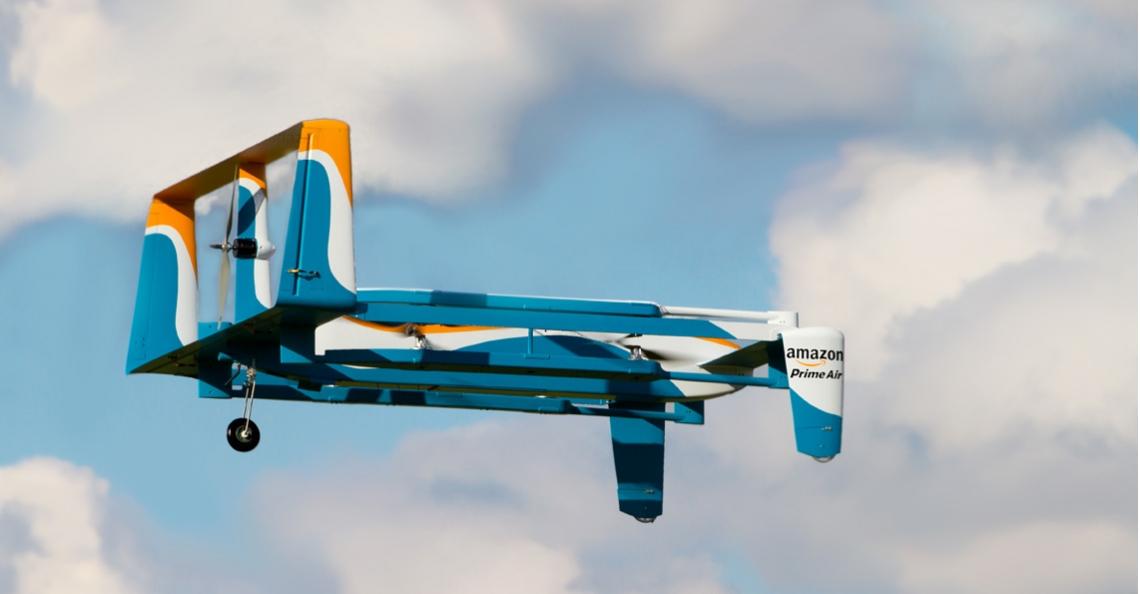 Amazon dient patent in voor waarschuwing-systeem
