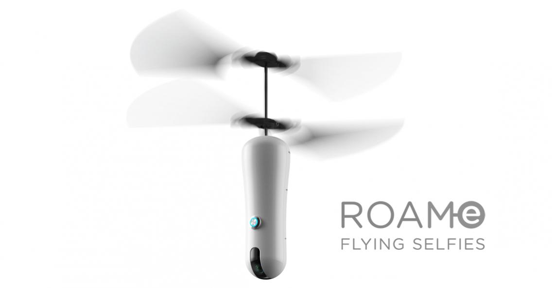 Australische drone is vliegende selfie-stick