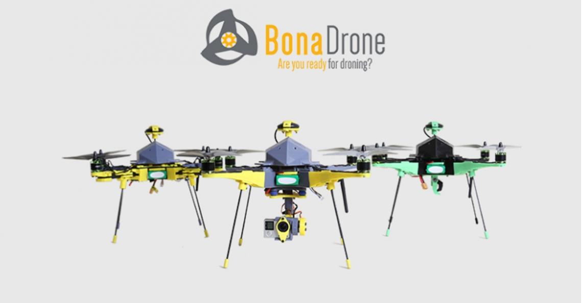 Spaanse startup BonaDrone introduceert 'The Mosquito'