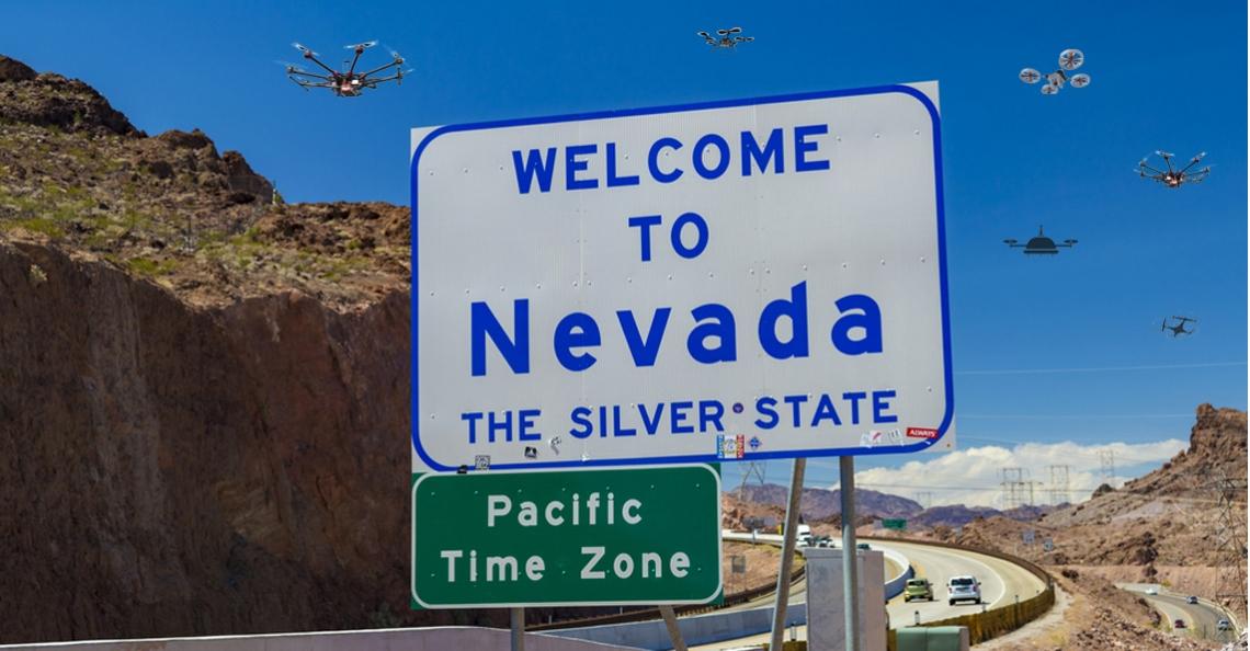 Amerikaanse staat Nevada en NASA gaan samenwerken op gebied van drones