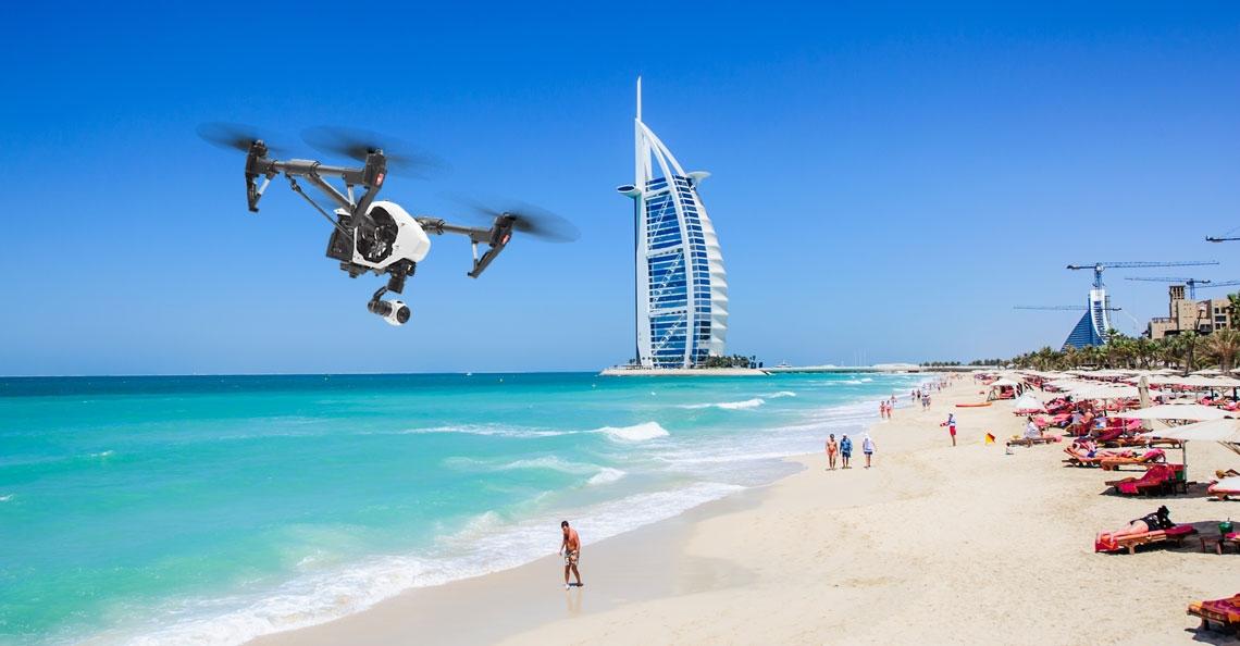 Dubai speurt met drones naar milieuvervuilers
