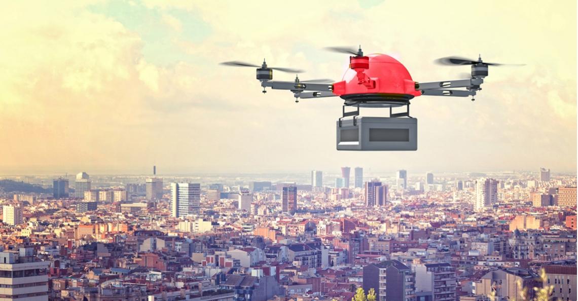 Australia Post test drones voor pakketbezorging