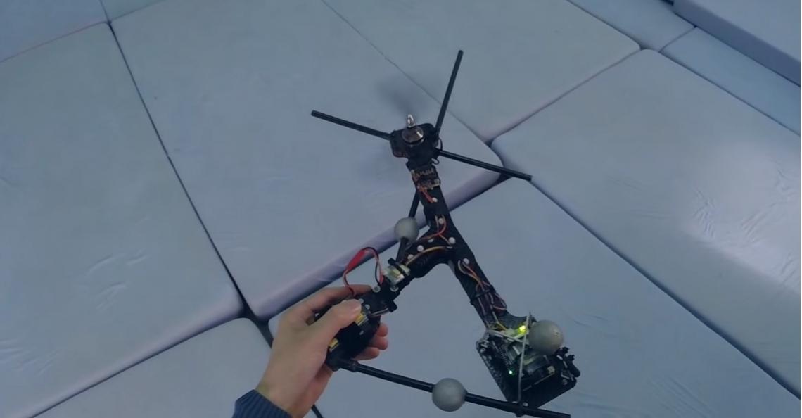 Monospinner, 's werelds simpelste drone met 1 motor