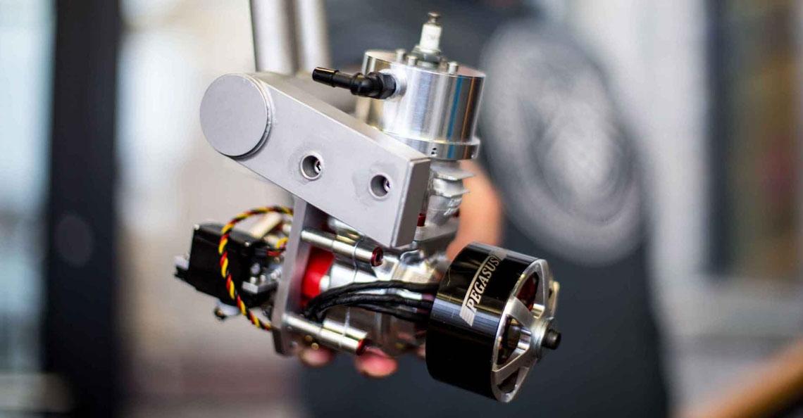 Canadese startup wil batterijen in drone vervangen door verbrandingsmotor