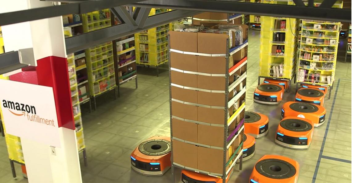 Amazon's aankoop van robotica firma Kiva voor $775 miljoen blijkt slimme zet