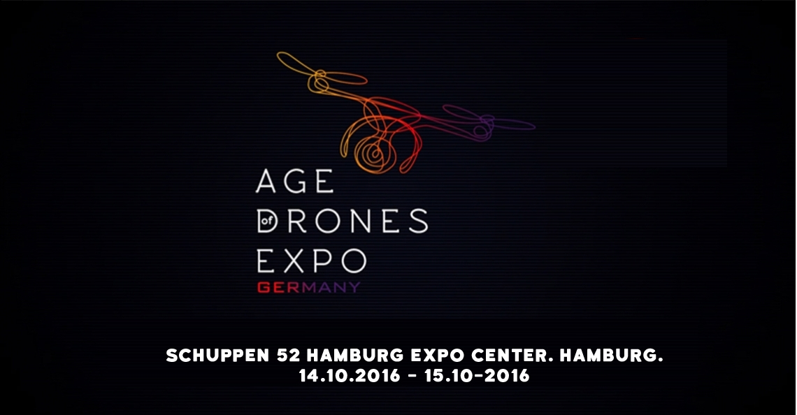 Kom naar The Age of Drones Expo in Hamburg