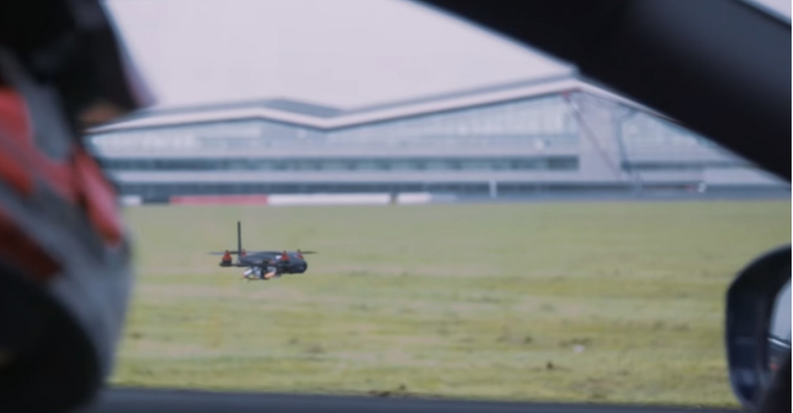 Nissan introduceert GT-R Drone als slimme marketingtruc