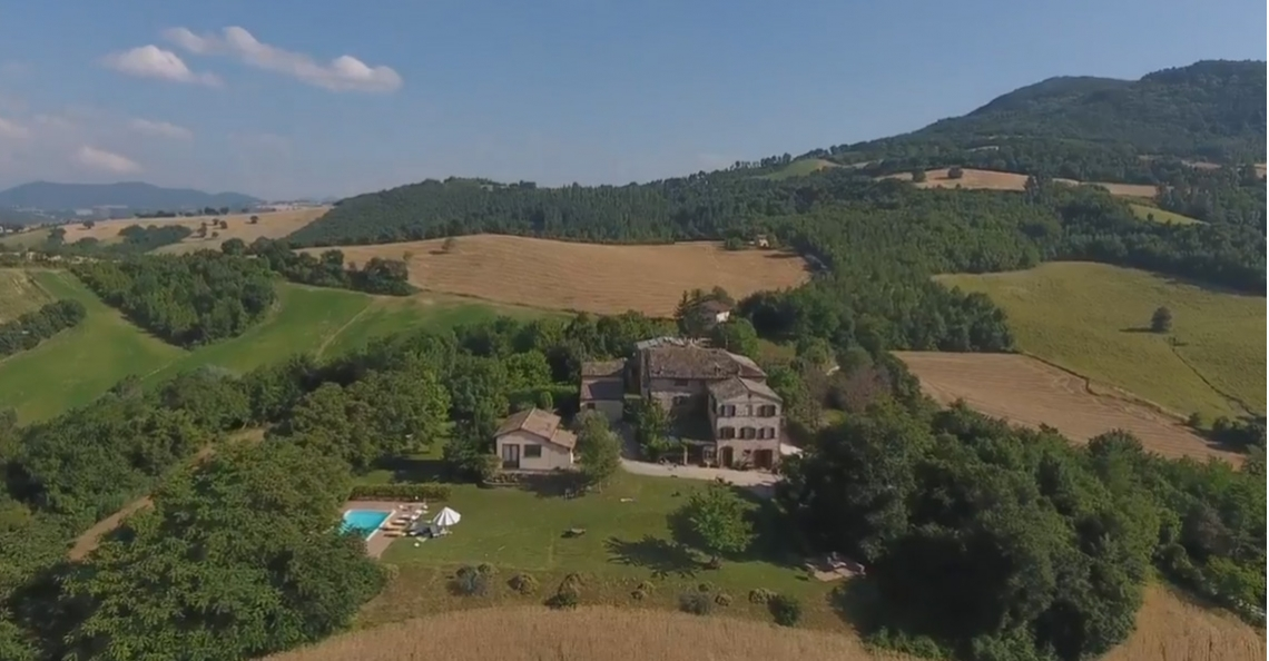 Alexander Klöpping maakt dronevideo in Italië met Phantom 4