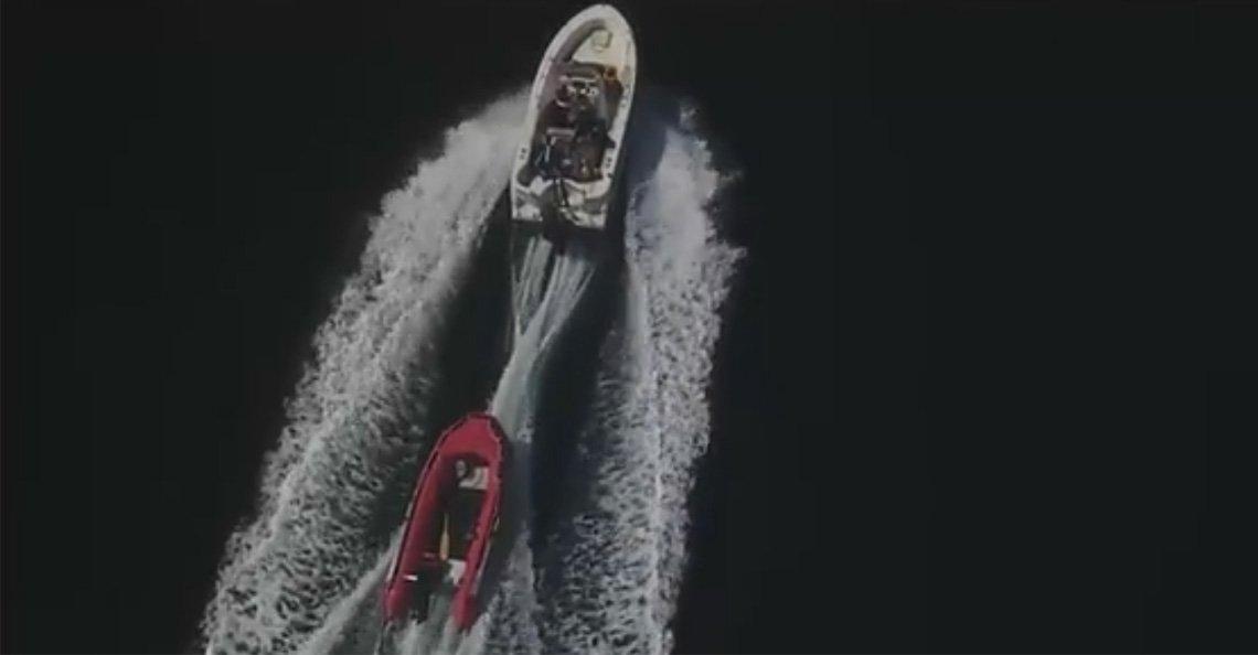 14-jarige jongen volgt bootdieven met zijn drone