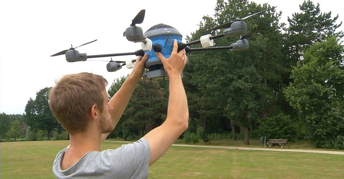 AiReas Eindhoven meet luchtkwaliteit met drone