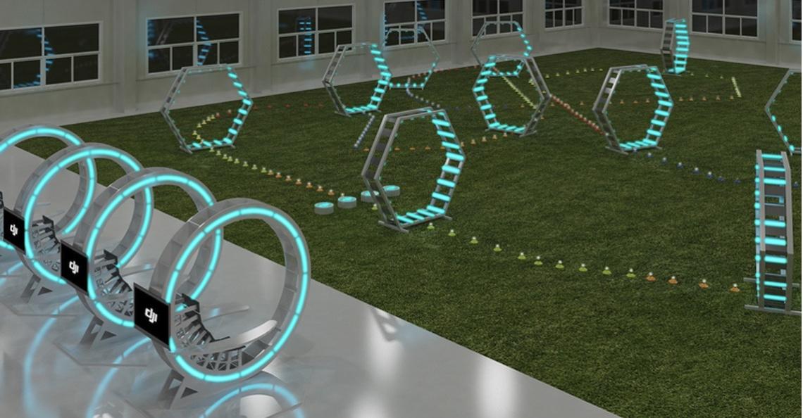 Dronefabrikant DJI opent Drone Arena in Korea
