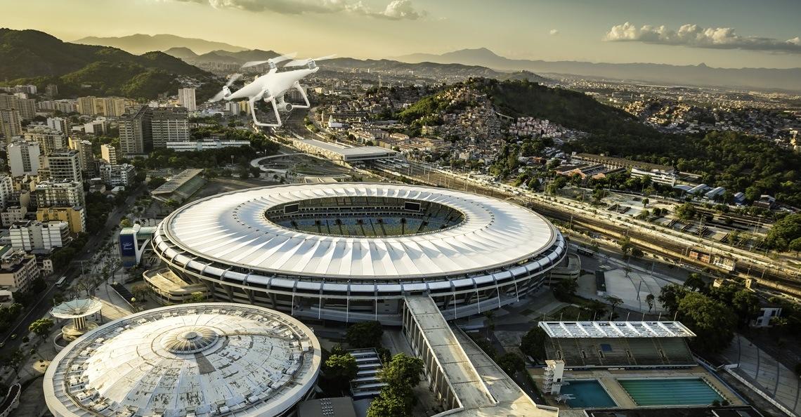 DJI stelt tijdelijke no-fly zones in rond Olympische stadions