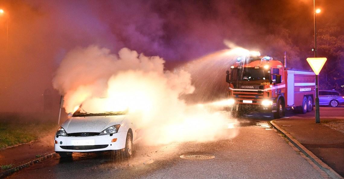 Politie Malmö zet drones in om brandstichters te pakken