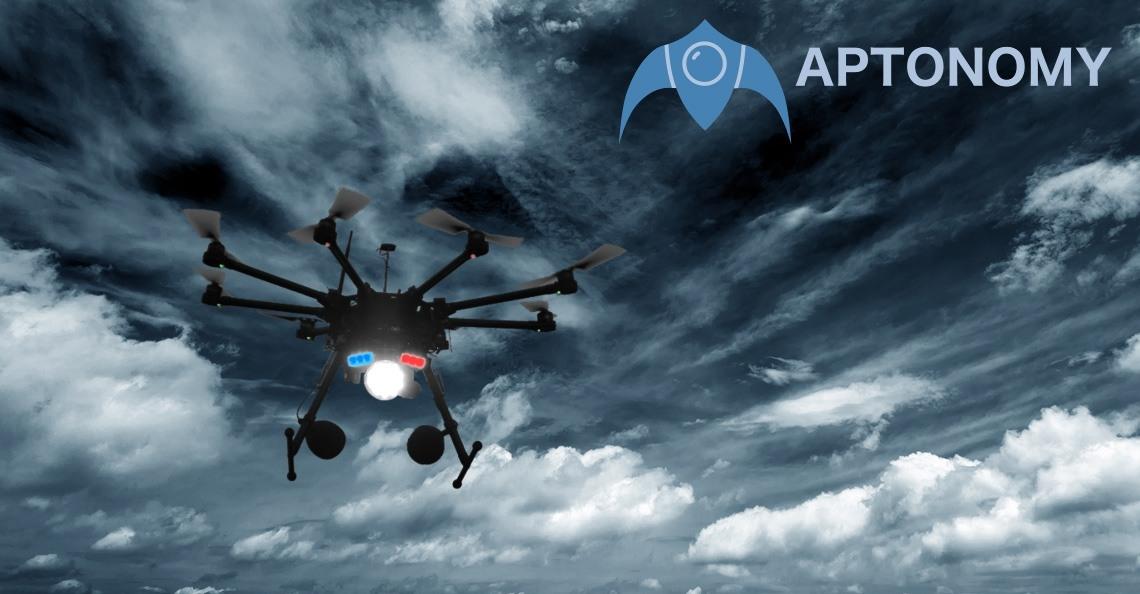 Drone startup Aptonomy ontwikkelt vliegende bewaker