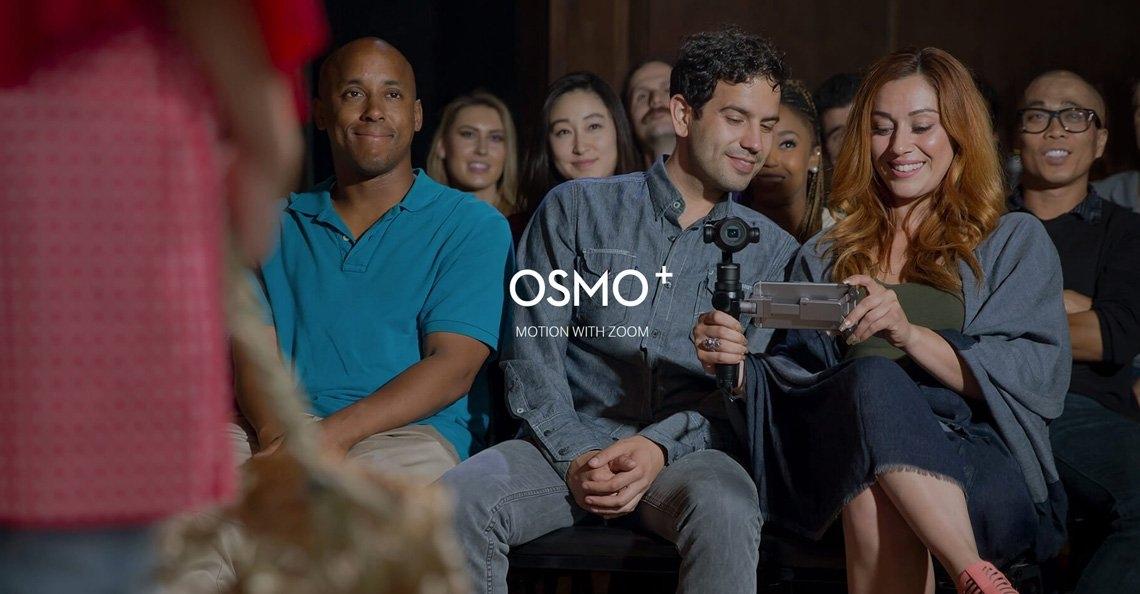 DJI presenteert nieuwe DJI Osmo+ handheld gimbal zoom camera