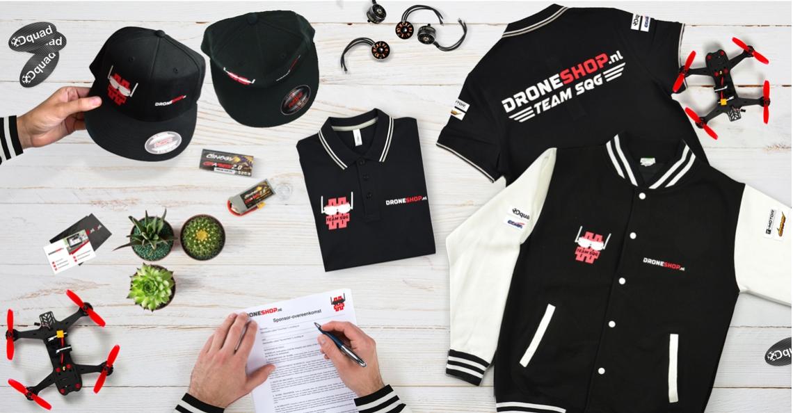 Droneshop.nl treedt aan als hoofdsponsor Team SQG