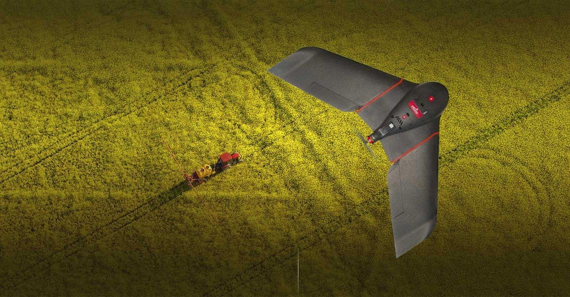 SenseFly presenteert nieuwe eBee SQ drone