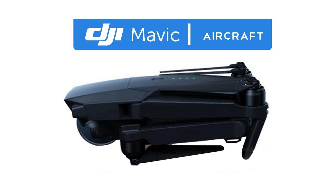 Uitgelekte foto's tonen compacte DJI Mavic drone