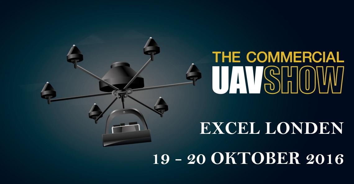 The Commercial UAV Show in Londen op 19 en 20 oktober 2016