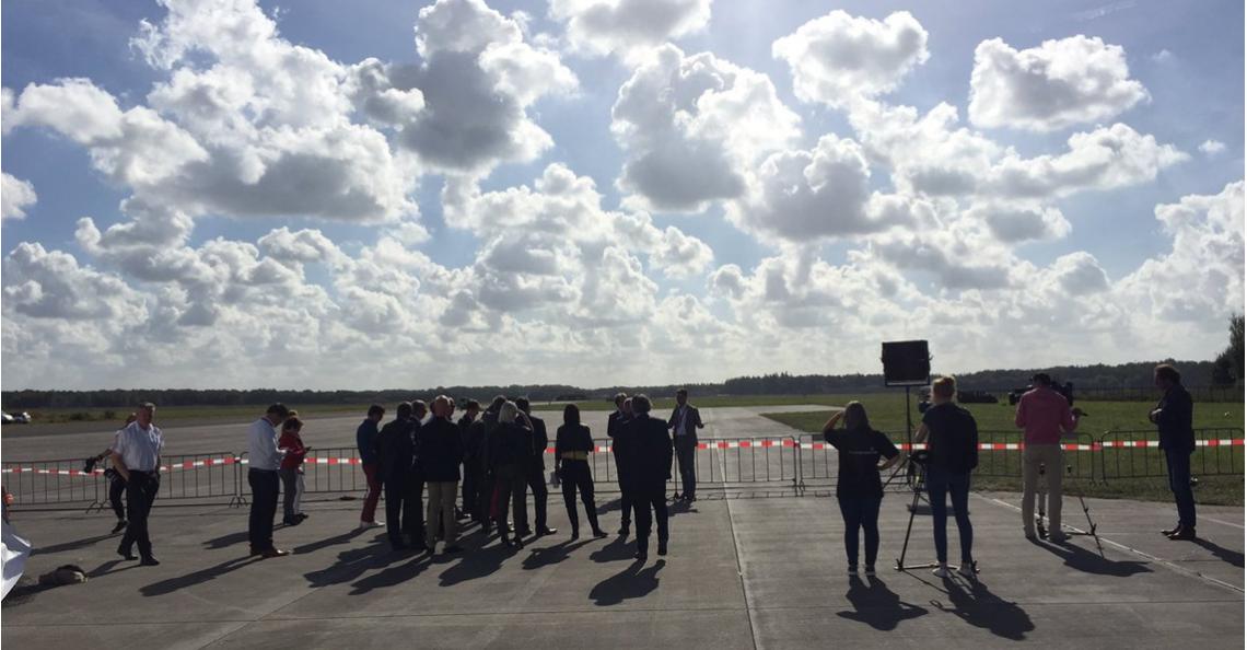 Drone testlocatie Space53 Twente officieel geopend