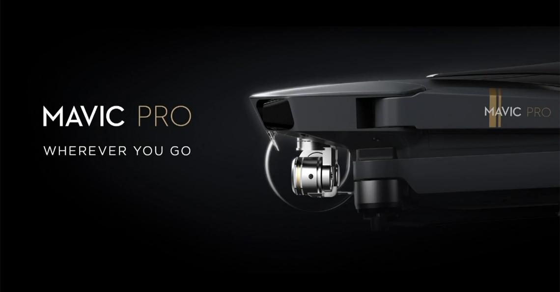 DJI kondigt nieuwe Mavic Pro drone officieel aan