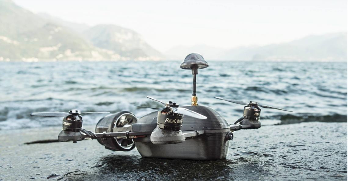 Nederlandse startup Exversa Design ontwikkelt Apollo drone
