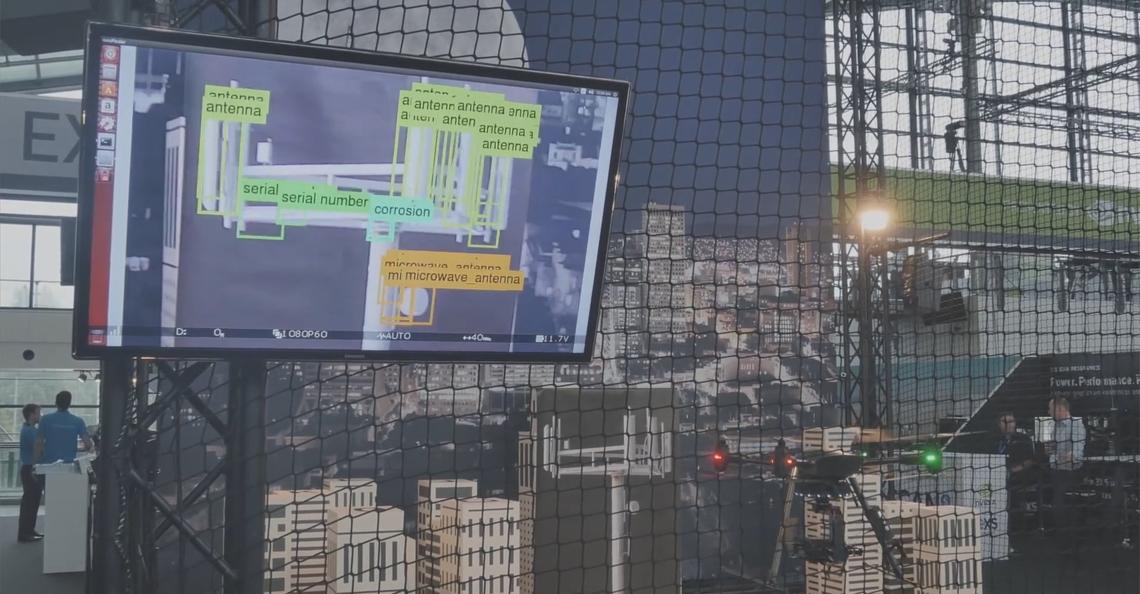 Aerialtronics introduceert kunstmatig intelligente drones tijdens GTC
