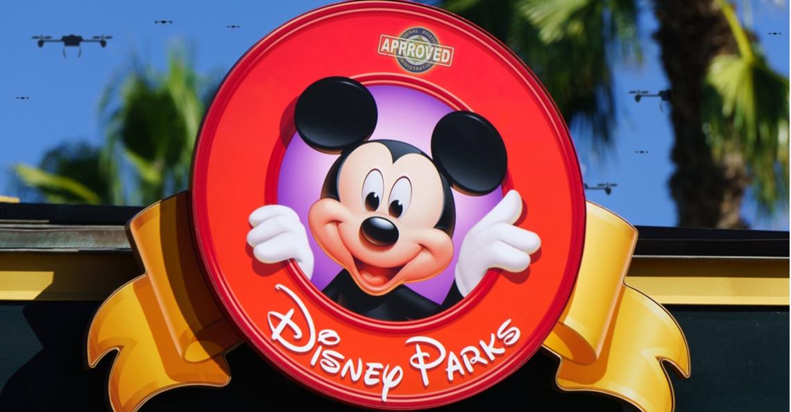 FAA geeft Disney toestemming te vliegen in pretparken