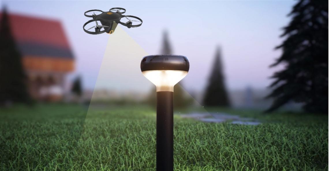 Nieuw beveiligingssysteem voor consumenten met behulp van drone