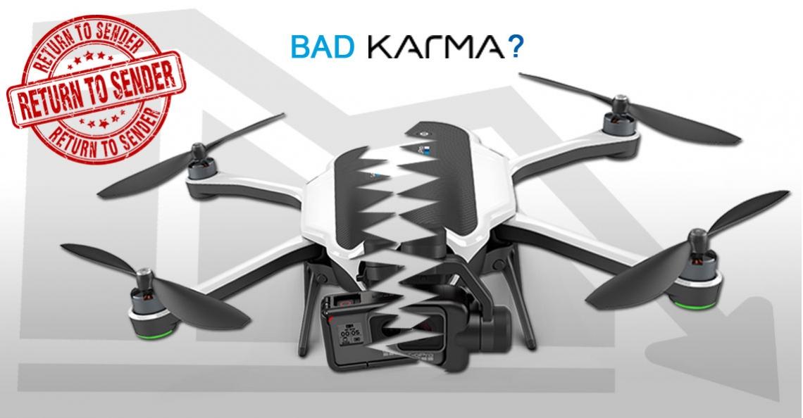 GoPro roept alle Karma drones terug