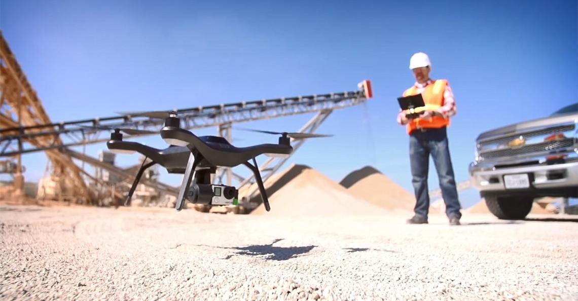 3D Robotics richt zich op de bouwsector