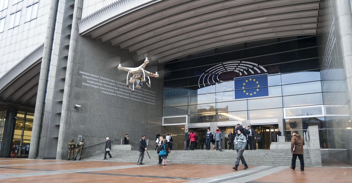Registratie drones moet volgens Europees Parlement verplicht worden
