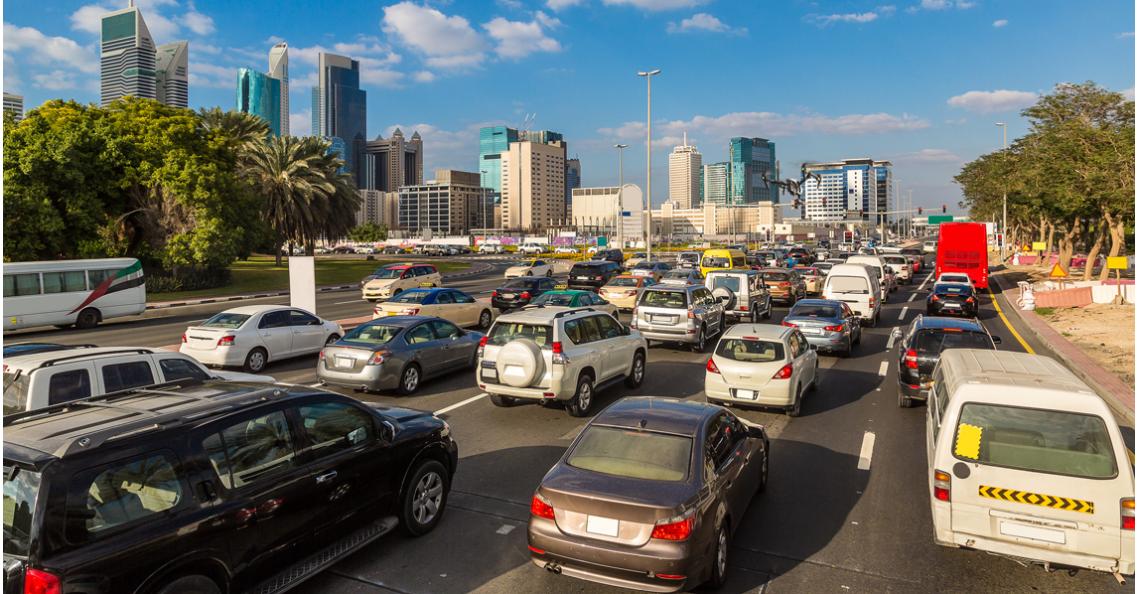 Dubai wil drones gebruiken voor verkeerscontrole