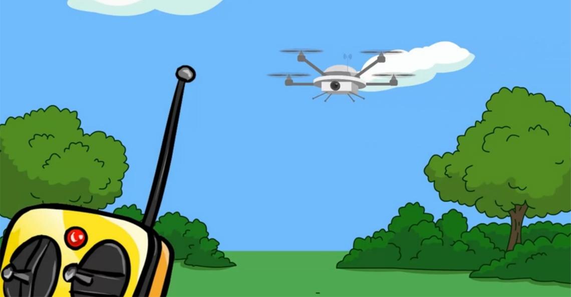 Britten lanceren campagne voor veilig drone-gebruik