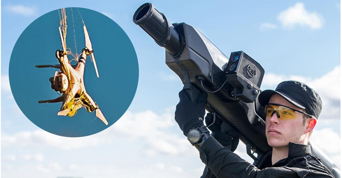 SkyWall bestrijdt ongewenste drones