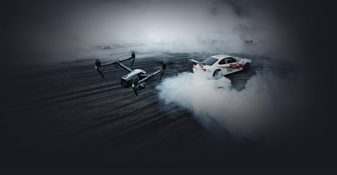 DJI beperkt snelheid van nieuwe DJI Inspire 2 drone
