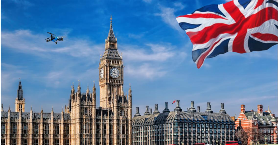 UK updates droneregeling voor de feestdagen
