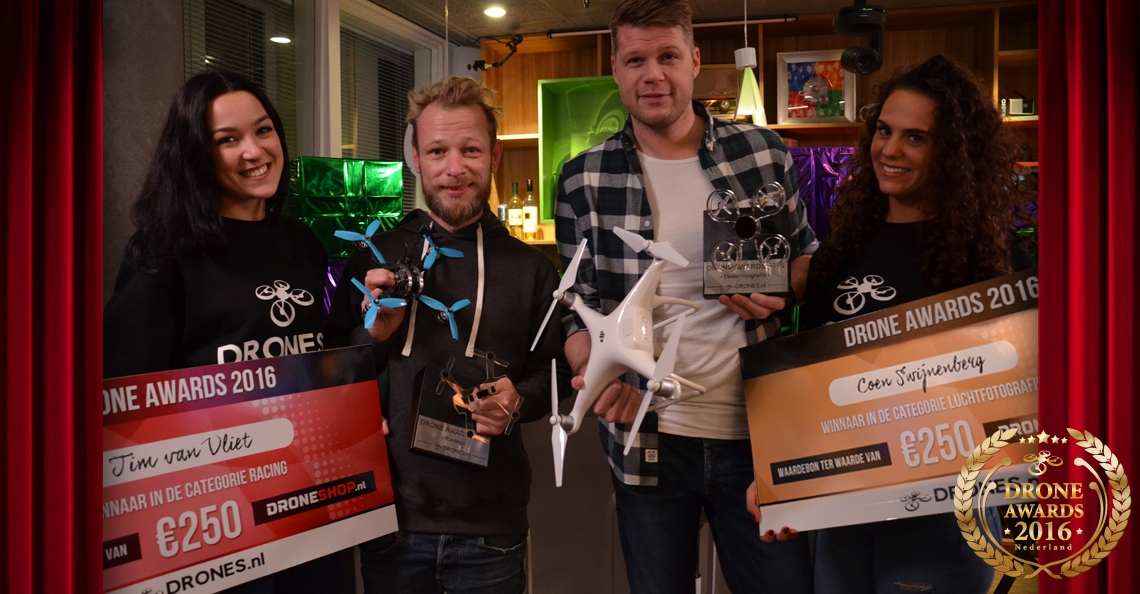 Winnaars Drone Awards 2016 bekend!