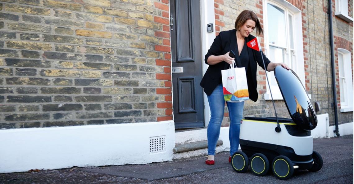 Test afgerond, zelfrijdende robots gaan echt rijden in Londen