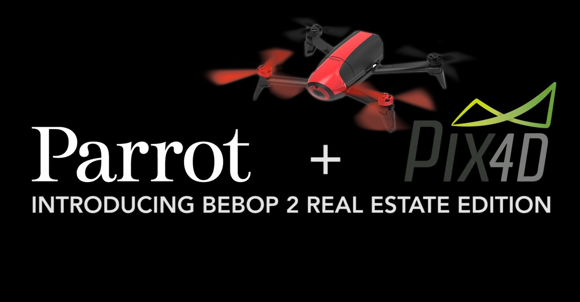 Parrot lanceert Bebop 2 Real Estate Edition