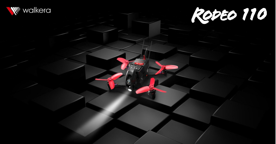 Walkera introduceert FPV mini-racer: Rodeo 110