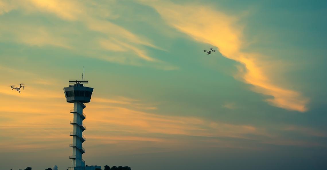 Vodafone wil drone air traffic control via haar mobiel netwerk