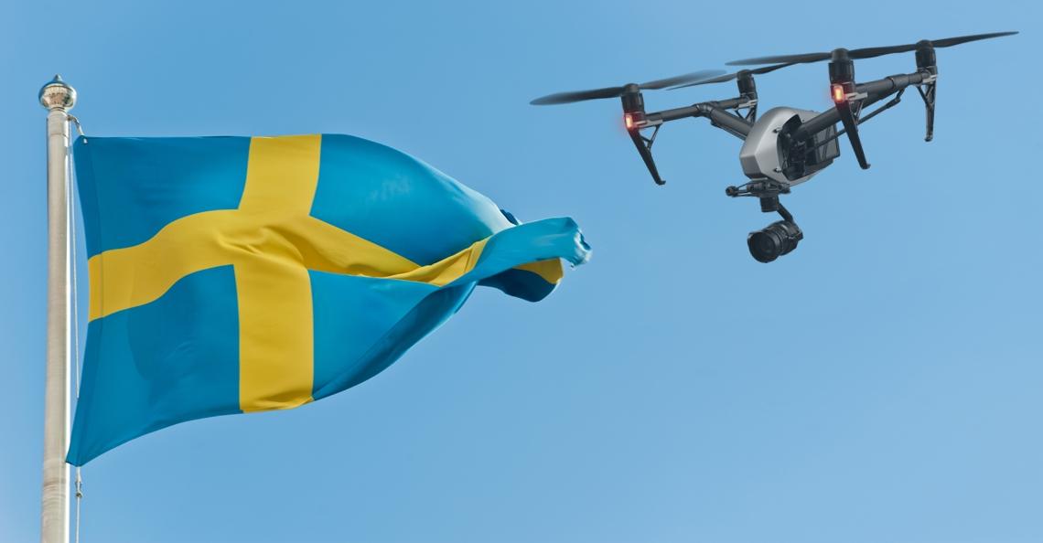 Zweden komt mogelijk terug op droneverbod