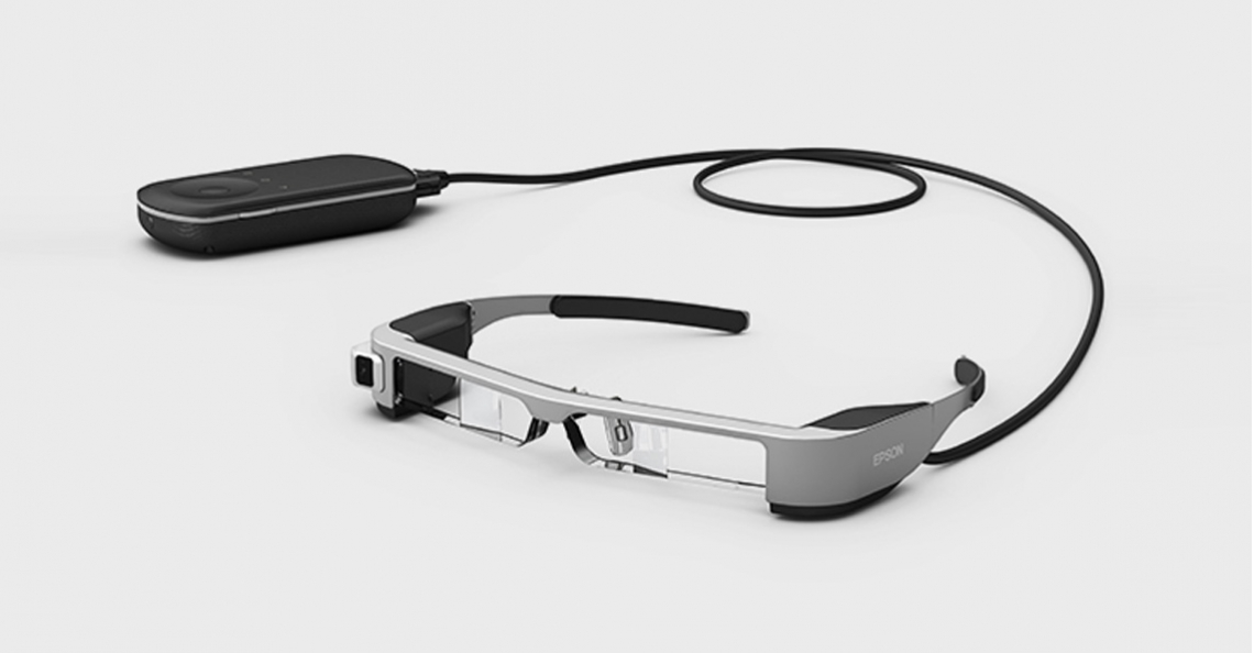 Drone editie van Epson Moverio BT-300 FPV bril spoedig verkrijgbaar