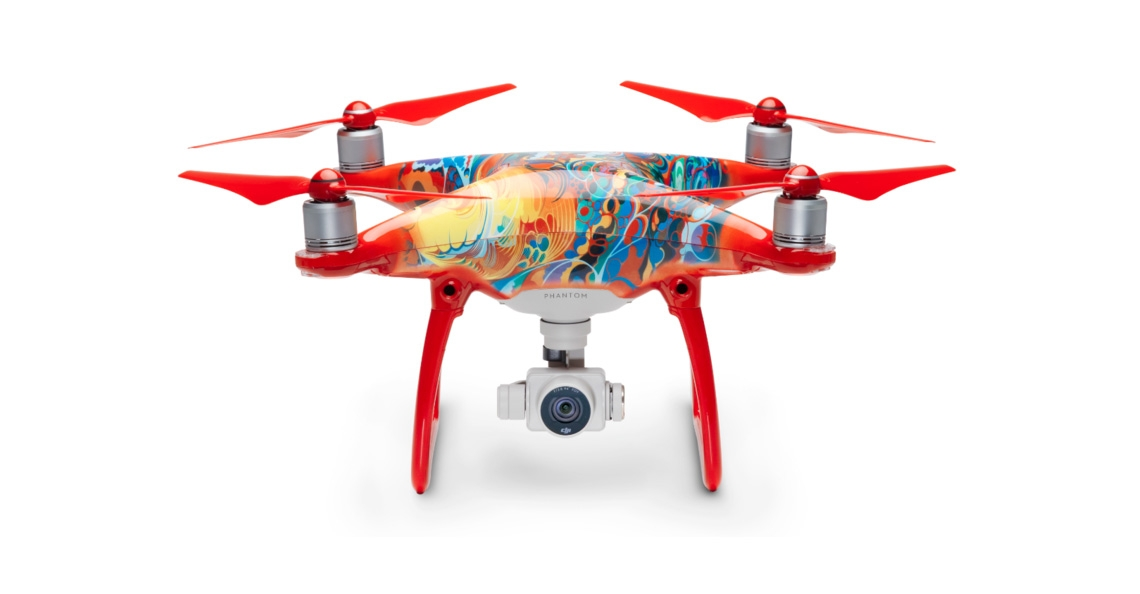 DJI toont Phantom 4 Chinese New Year Limited Edition