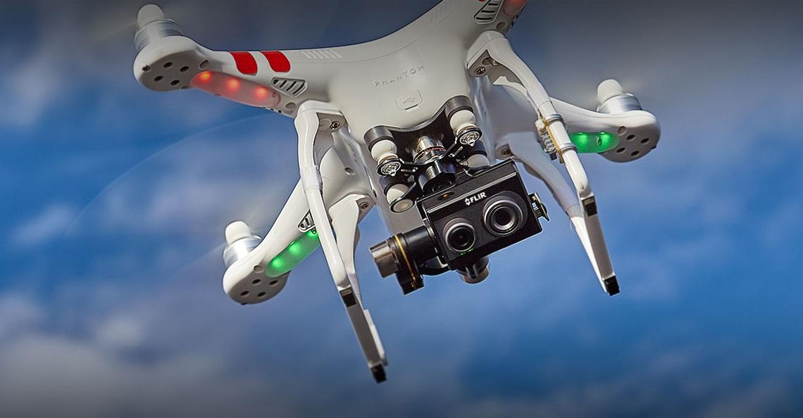 FLIR Duo: een thermische camera voor consumenten drones
