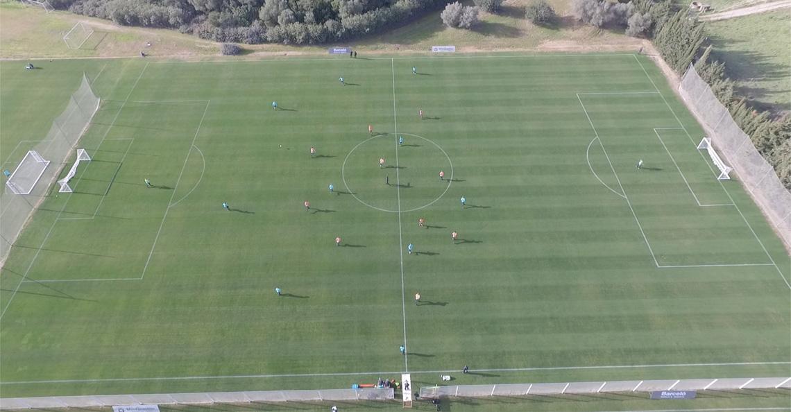 PSV trainer Phillip Cocu is blij met drone